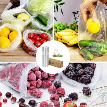 Clear Bags for Fruits Vegetable Bread