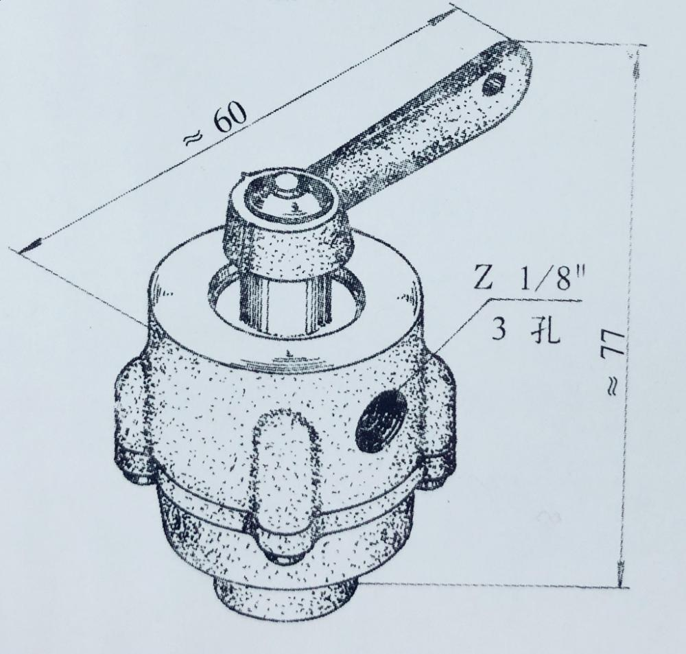 QSF- 1A  low pressure switch valve