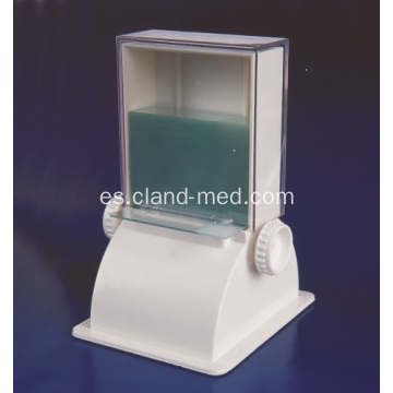 Dispensador de diapositivas para microscopio