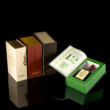 New Design Book Shape Wine Magnetic Gift Box