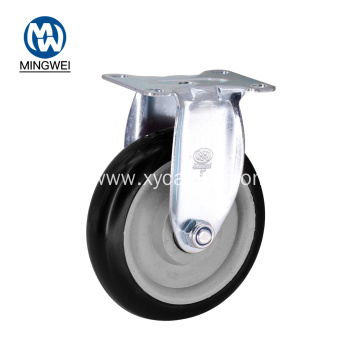 5 Inch Rigid PVC Caster Wheels