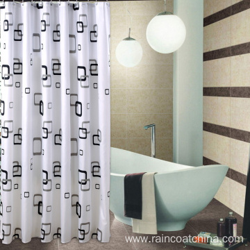 Custom 3D PVC Shower Curtain