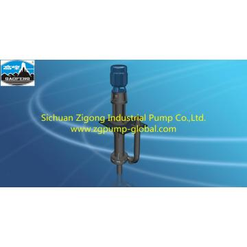 Vertical long shaft slurry liquid submerged pump