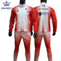 Red sublimation mens tracksuits