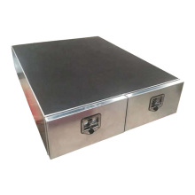 Aluminum Two Door Drawer for UTE/Truck Storage Use