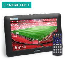 LEADSTAR 9 inch Portable TV DVB-T2 ATSC ISDB-T tdt Digital and Analog mini small Car Television Support USB TF PVR MP4 H.265 AC3