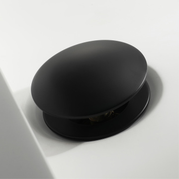 HIDEEP Full Brass Black-Paint Pop Up Drain