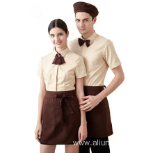 New design receptionist hotel uniform for front desk staff