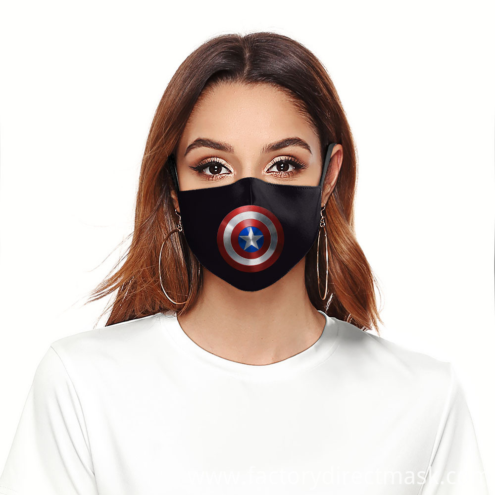 Hollywood Theme Design Captain America Protective Masks