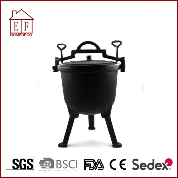 Cast iron high pressure meat pot for cooking