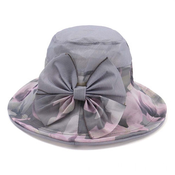 Foldable cloth hat bucket hat panama summer hat