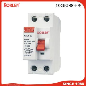 63A 1p+N 3p+N Leakage Residual Current Circuit Breaker
