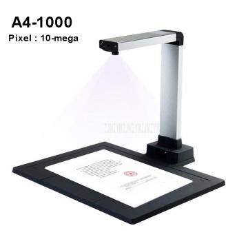 New A4 Automatic USB Portable Digital Document Scanner Photo File Scanning 10-mega Pixels Scanner Fast Visual Presenter A4-1000