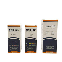 clinical urine protein and glucose strips