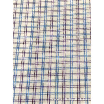 T/C(20%Cotton80%Polyester)High Density  Plaid Fabric