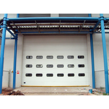 Remote Control Overhead Sectional Garage Door