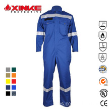 Flame Retardant Anti-statik Offshore Coverall Garments
