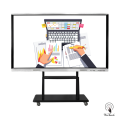 86 Inches All-In-One Panel Display with mobile stand