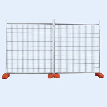 PVC temporary fence national temporary fence temporary outfield fence