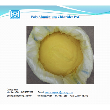 wastewater treatment chemical PAC 30% Poly Aluminum Chloride