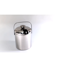 Customized Promotion double wall stainless steel Ice Bucket