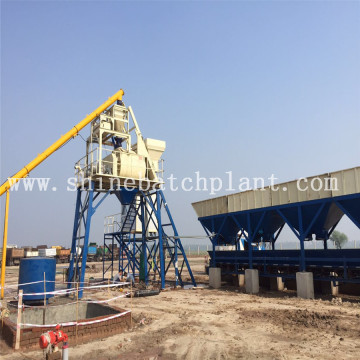 Medium Size Concrete Batching Plant