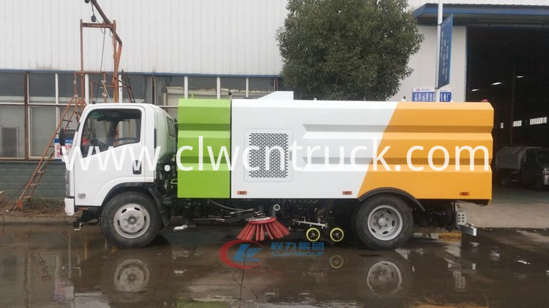 truck mounted vacuum sweeper 1