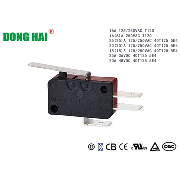 Electrical Door Micro Switch SPDT