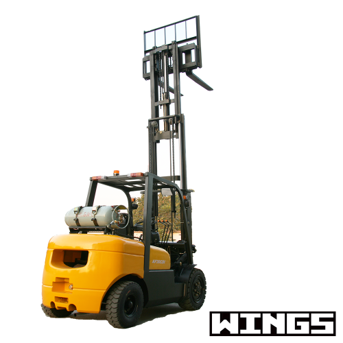 2t Gasoline&LPG Forklift (7-meter Lifting Height)