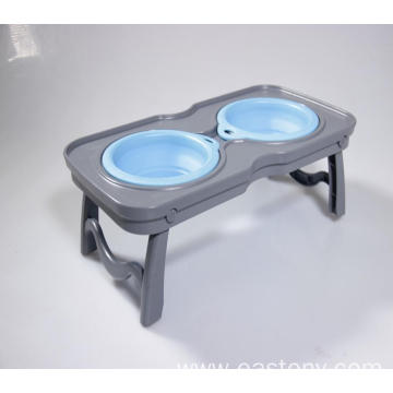 Food Water Feeder Cats Small Dogs Cat Bowl