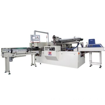 OK-100 Full-auto Box Tissue Cartoning Machine