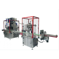 Intelligent follow filling and capping machine