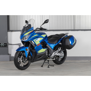 GT 320 motorcycle blue