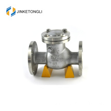 "JKTLPC003 flow control backflow swing stainless steel 2 1/2"" check valve"