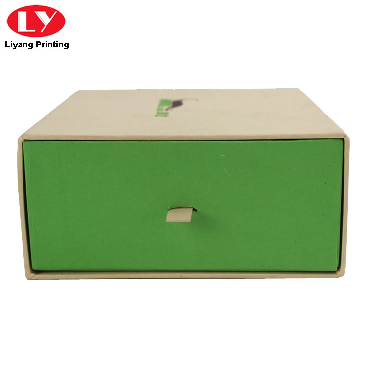 Drawer Paper Box Green