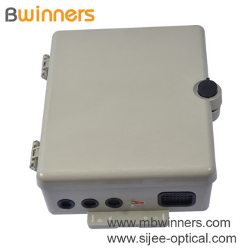 Outdoor 48 Cores Smc Wall-Mounted Fiber Optical Distribution Box