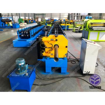 galvanized steel round downpipe / downspouts machine
