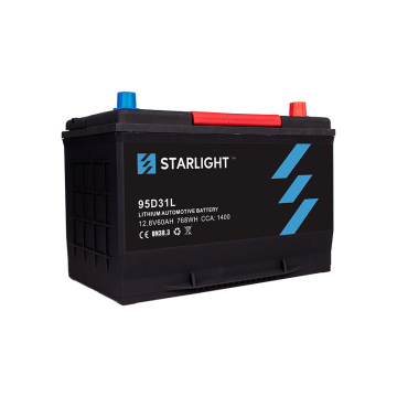 12V 95D31L LiFePO4 Car Battery(Standard Type)