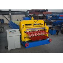 Trapezoidal and Glazed Tile Roofing Making Machine