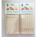 Bamboo ice cream stick