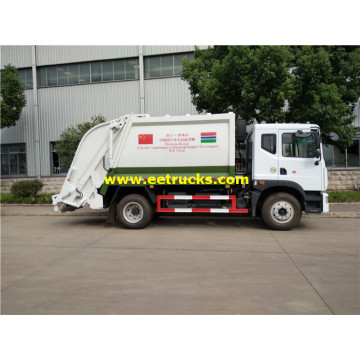 5000 Litres 115HP Rubbish Compactor Vehicles