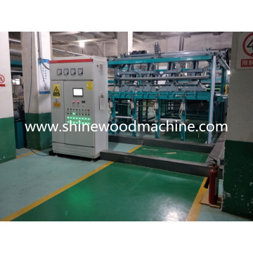 Woodworking Maple Veneer Plywood Drying Machine