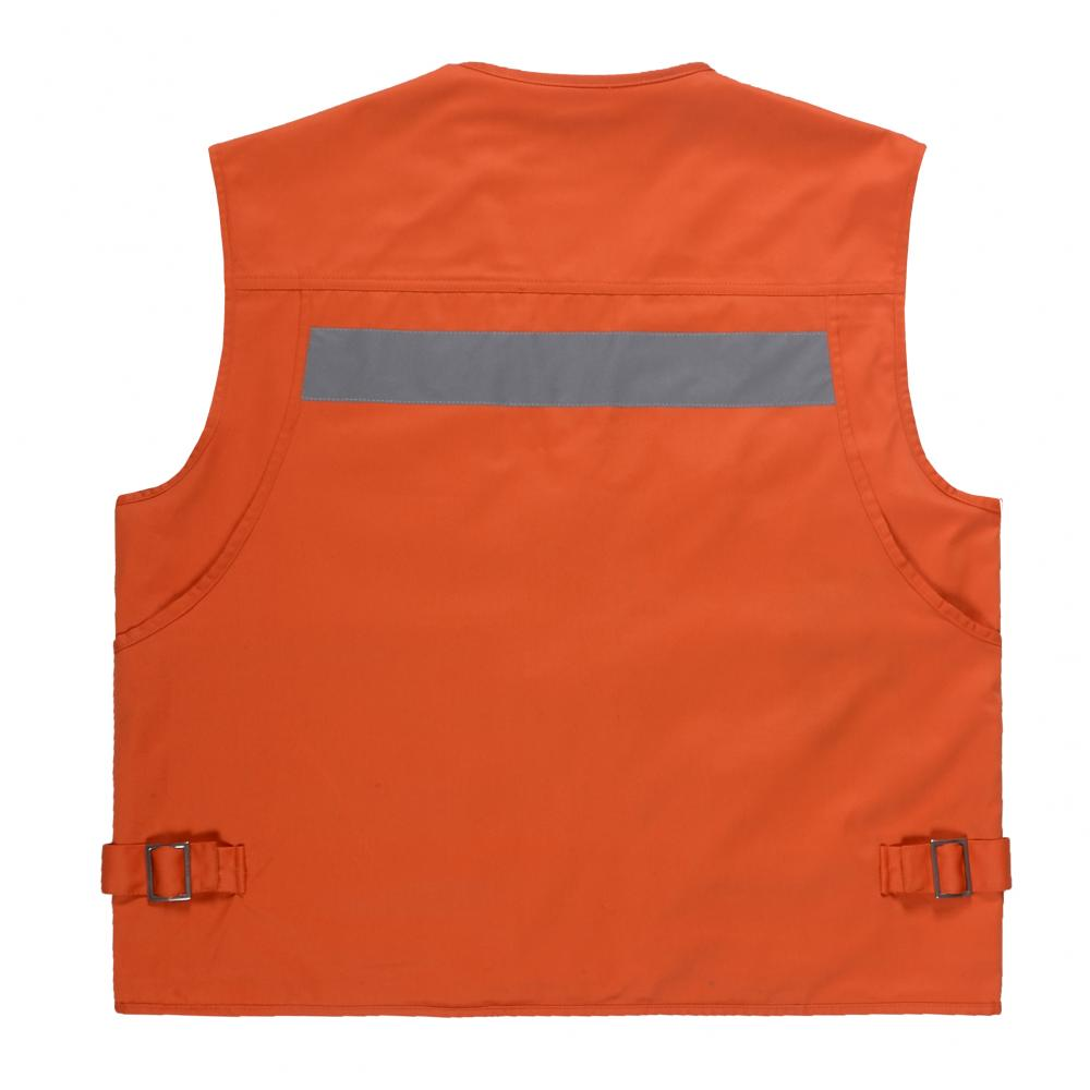 Multi-pockets with tools Reflective safety vest
