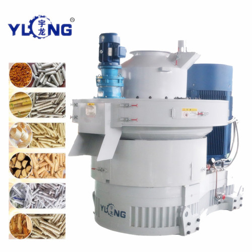 20 Ton Biomass Pellets Machine In Foreign Country