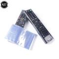 10Pcs Clear Shrink Film Bag TV/Air Condition Remote Control Transparent Case Cover Protective Anti-dust Controller Bag 6/8*25cm