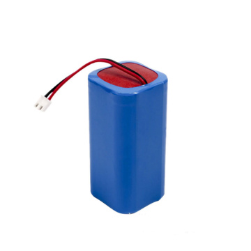 18650 1S4P 3.7V 10400mAh Li Ion Battery Pack