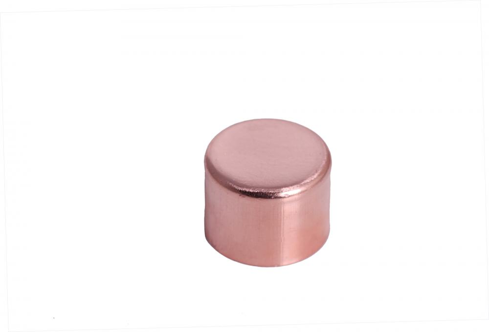 Refrigeration copper fitting end cap