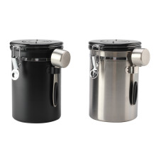 Airtight Coffee Canister Built-in CO2 Gas Vent Valve
