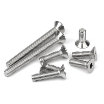 Hexagon Screw Carbon Steel Chromium Plating Grade 10.9