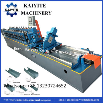 Ceiling Metal Stud and Track Roll Forming Machine